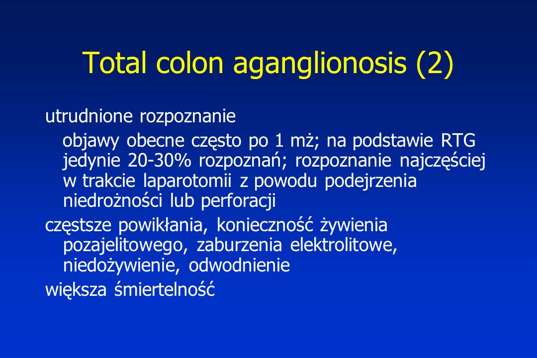 Total colon aganglionosis (2)