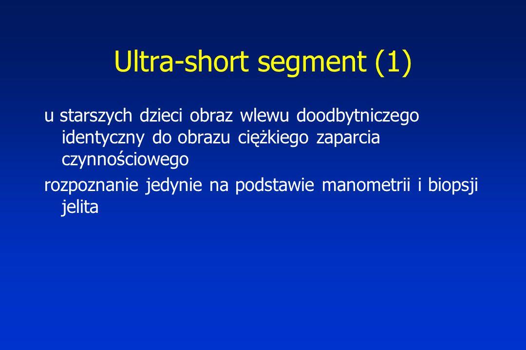 Ultra-short segment (1)
