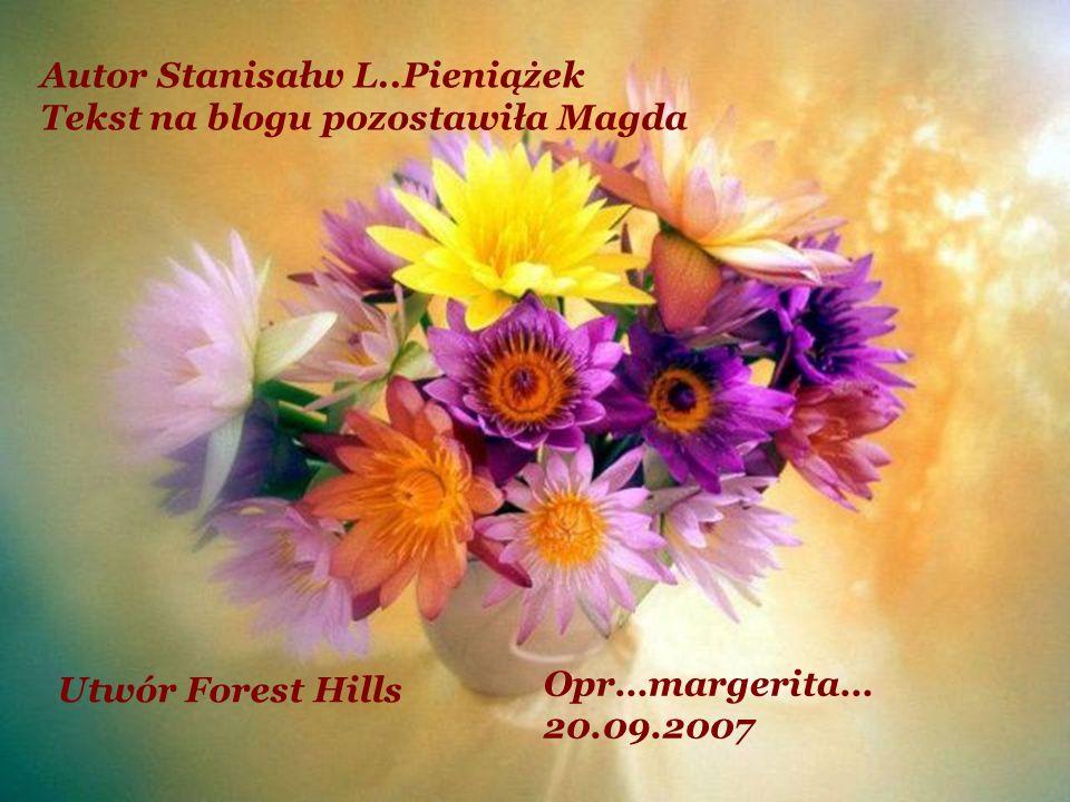 Autor Stanisałw L..Pieniążek