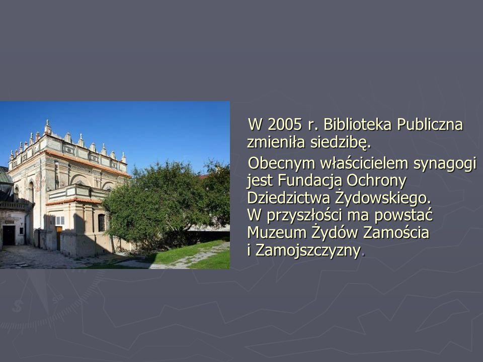 W 2005 r. Biblioteka Publiczna zmieniła siedzibę.