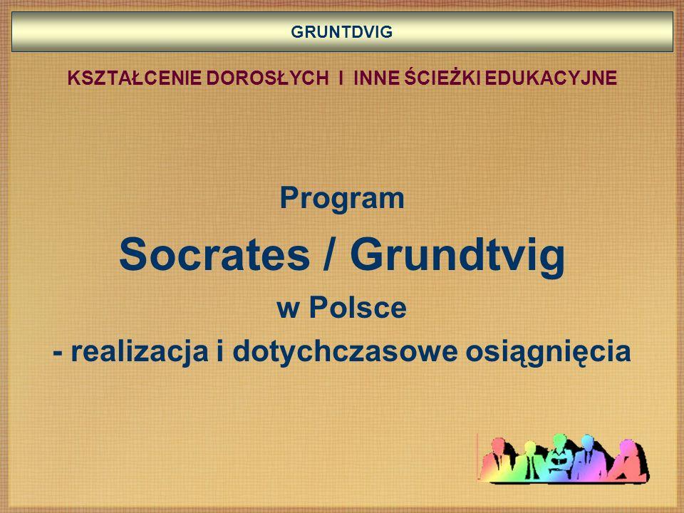 Socrates / Grundtvig Program w Polsce