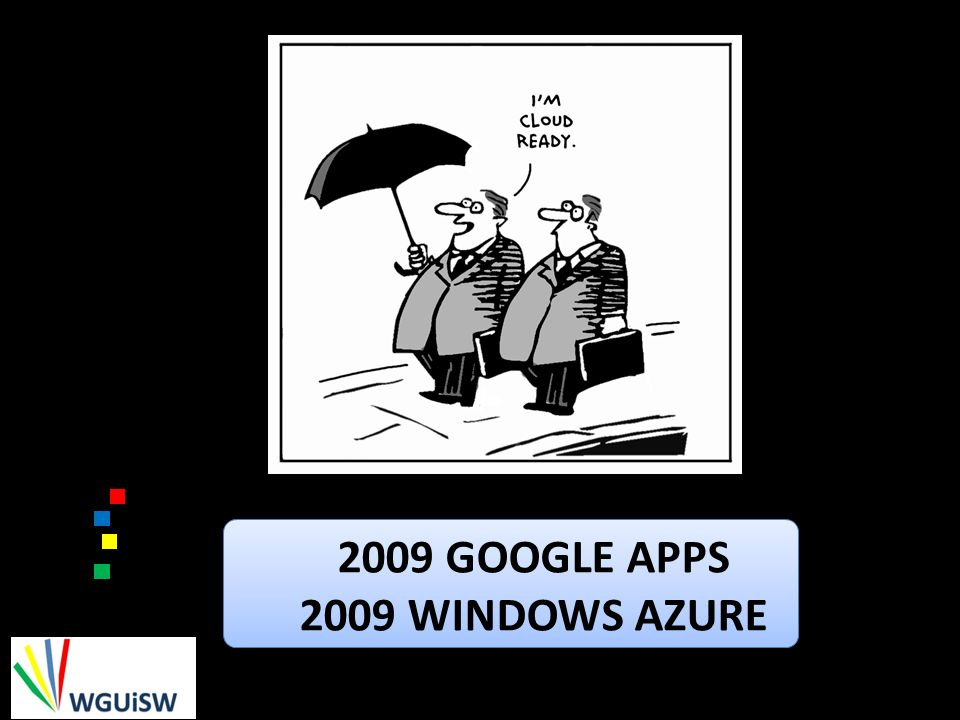 2009 Google Apps 2009 Windows Azure