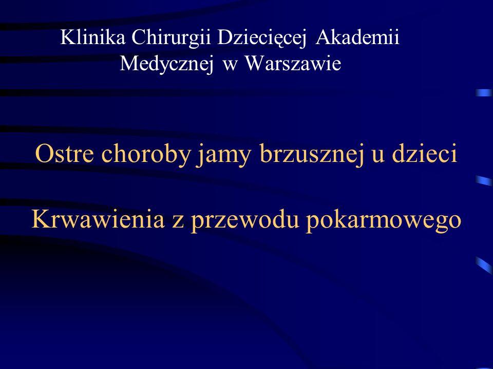Klinika Chirurgii Dziecięcej Akademii Medycznej w Warszawie