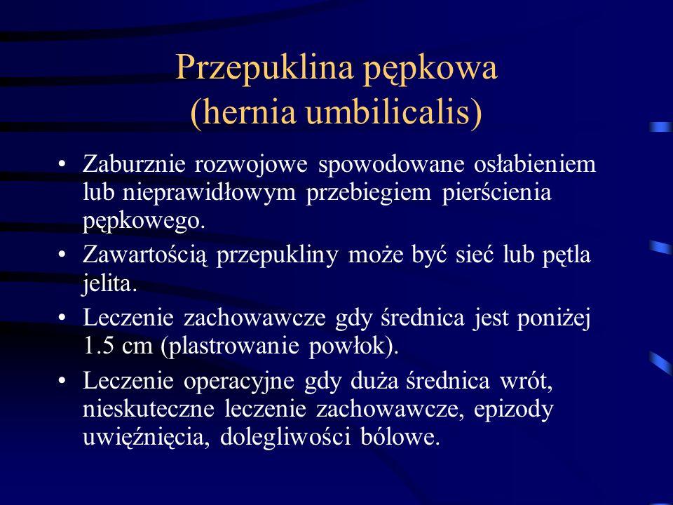Przepuklina pępkowa (hernia umbilicalis)