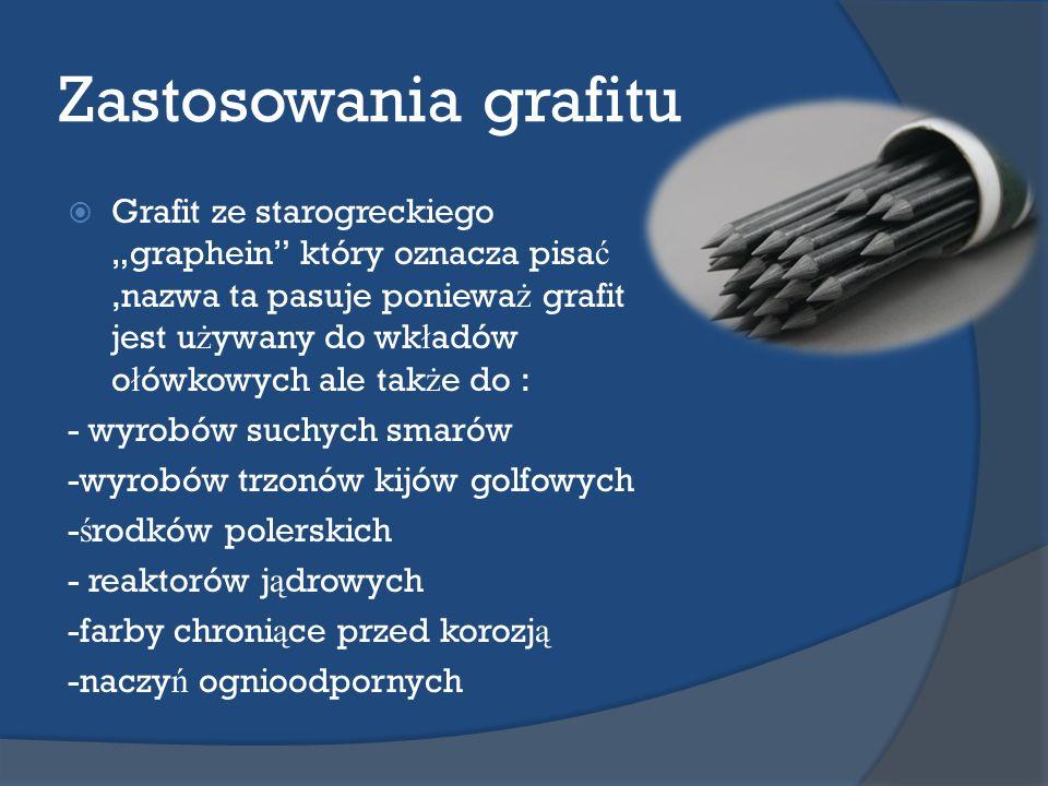 Zastosowania grafitu