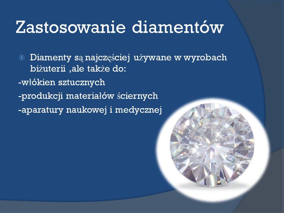 Zastosowanie diamentów