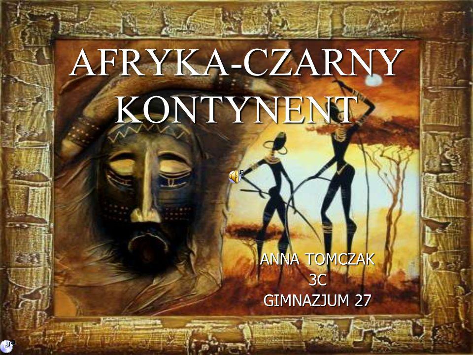 AFRYKA-CZARNY KONTYNENT