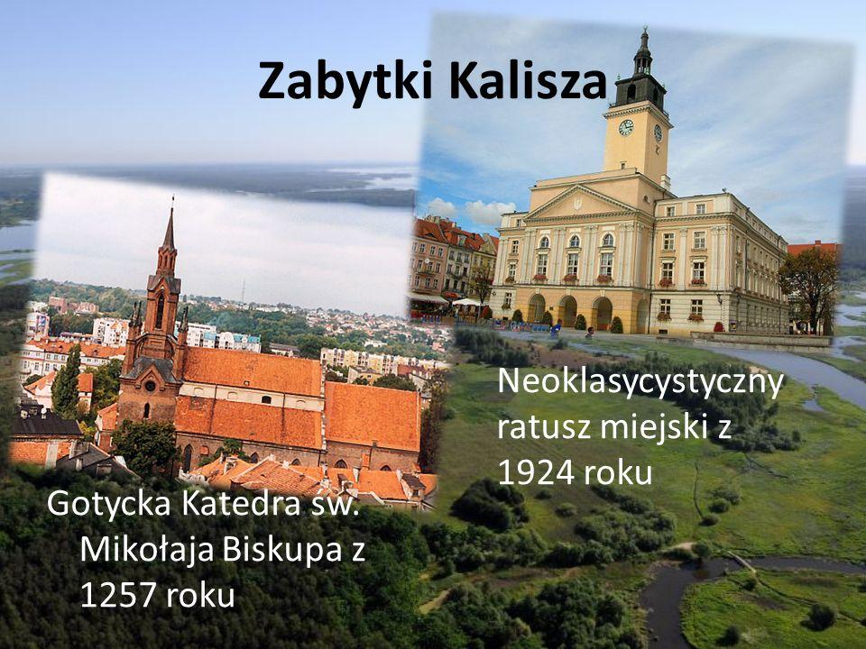 Zabytki Kalisza Neoklasycystyczny ratusz miejski z 1924 roku