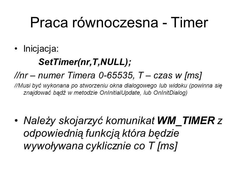 Praca równoczesna - Timer