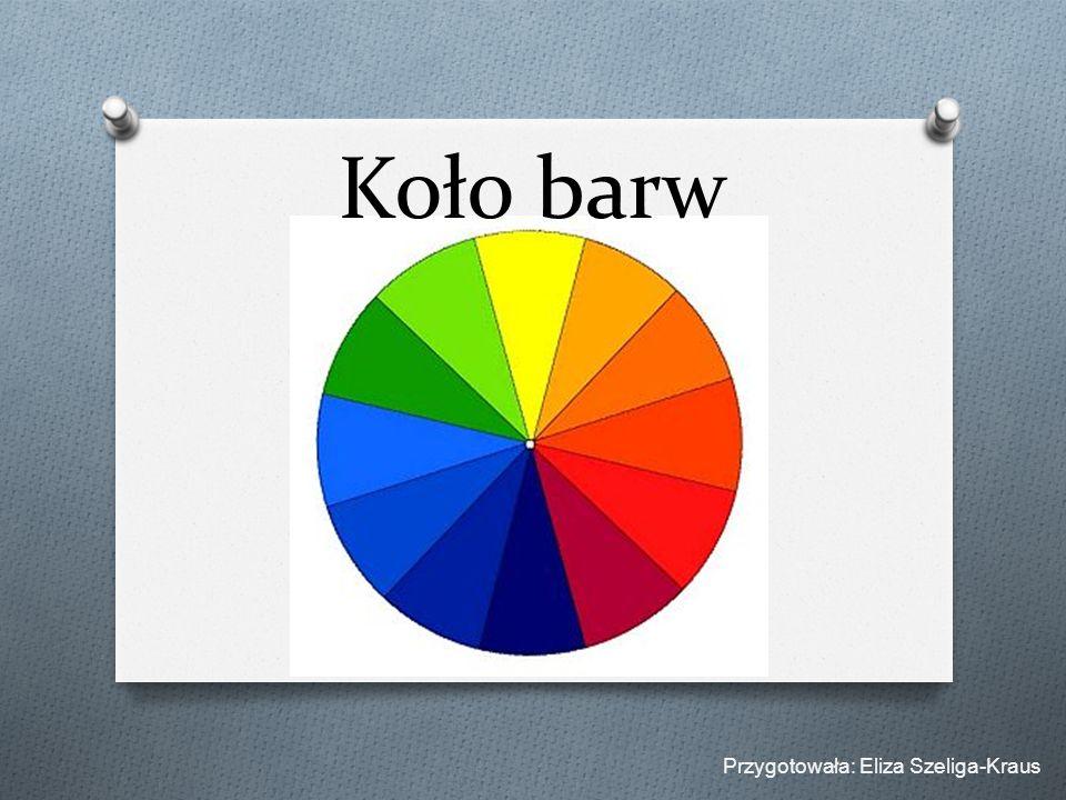 Koło barw Przygotowała: Eliza Szeliga-Kraus