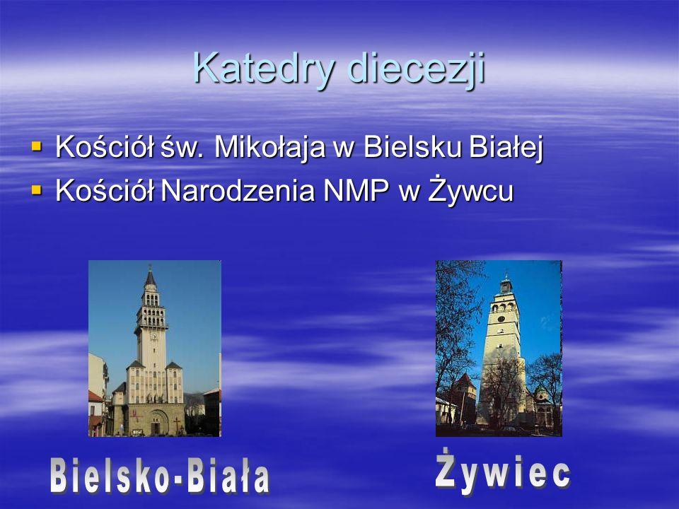 Katedry diecezji Żywiec Bielsko-Biała