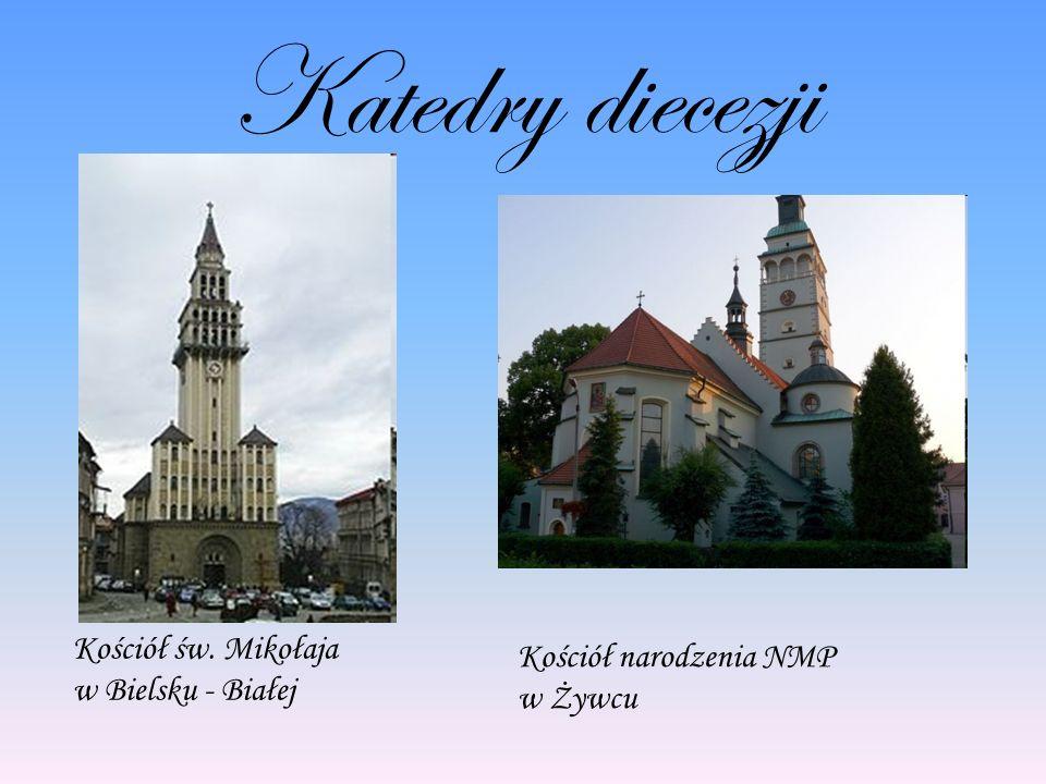Katedry diecezji Kościół św. Mikołaja w Bielsku - Białej