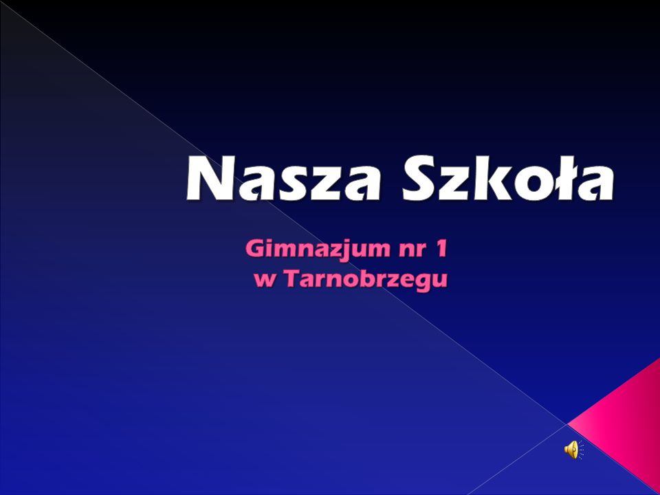 Gimnazjum nr 1 w Tarnobrzegu