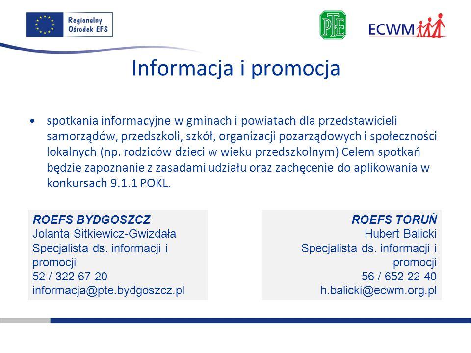 Informacja i promocja