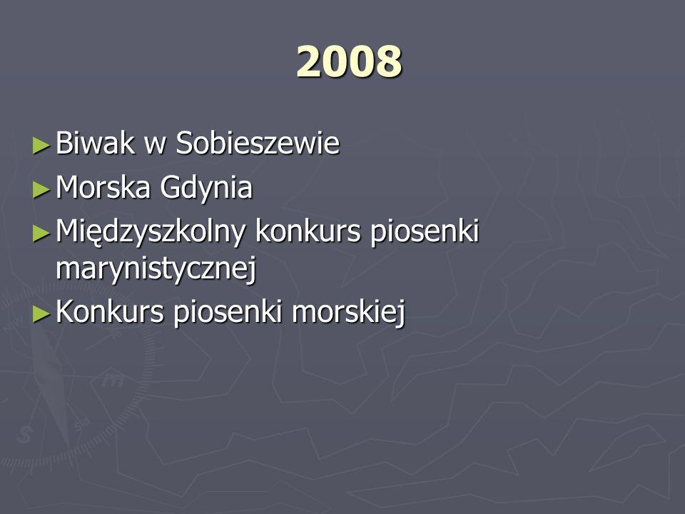 2008 Biwak w Sobieszewie Morska Gdynia