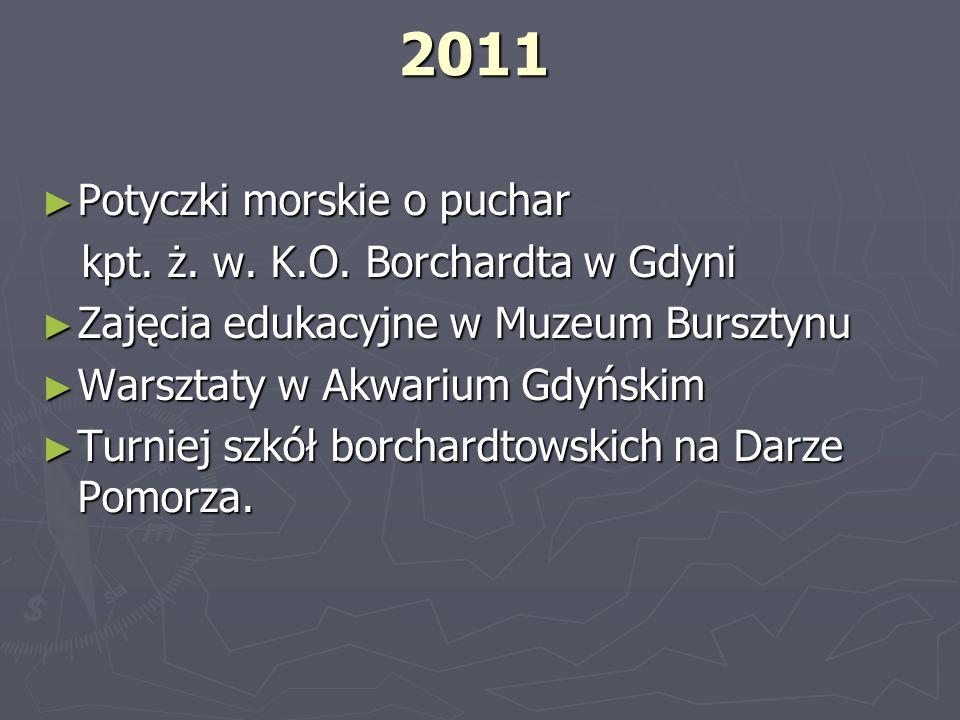 2011 Potyczki morskie o puchar kpt. ż. w. K.O. Borchardta w Gdyni