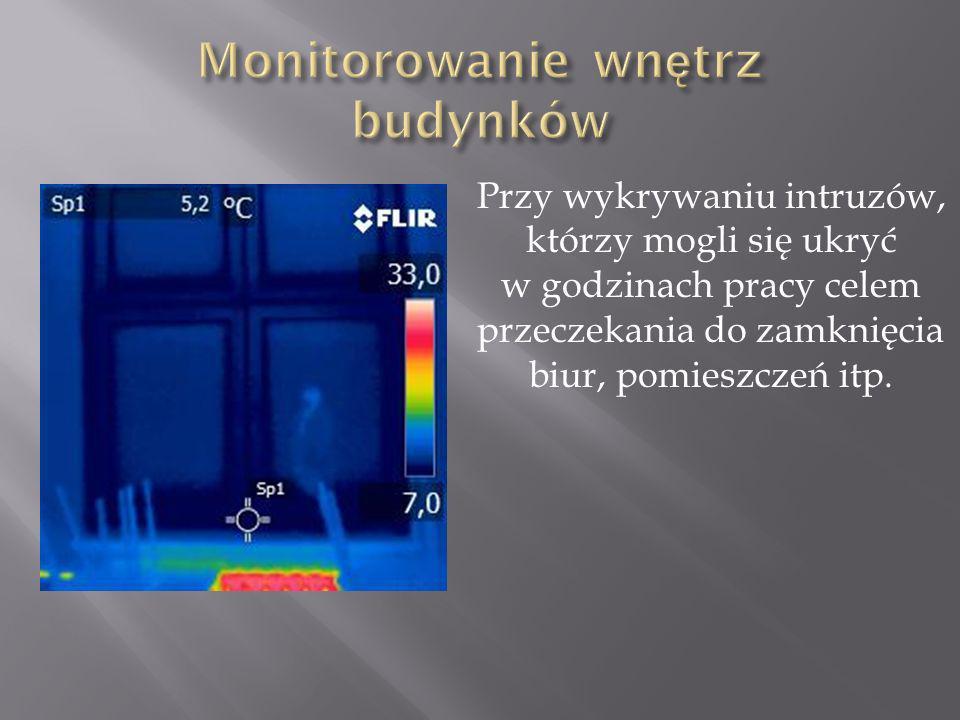 Monitorowanie wnętrz budynków