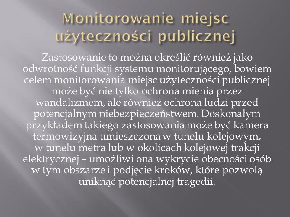 Monitorowanie miejsc użyteczności publicznej