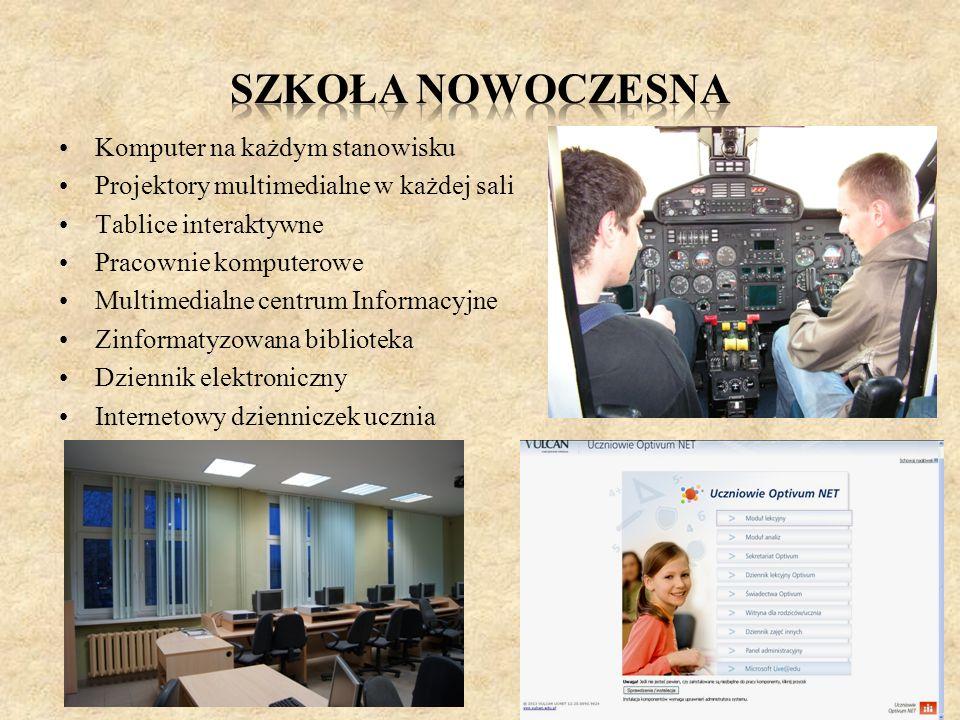 Szkoła nowoczesna Komputer na każdym stanowisku