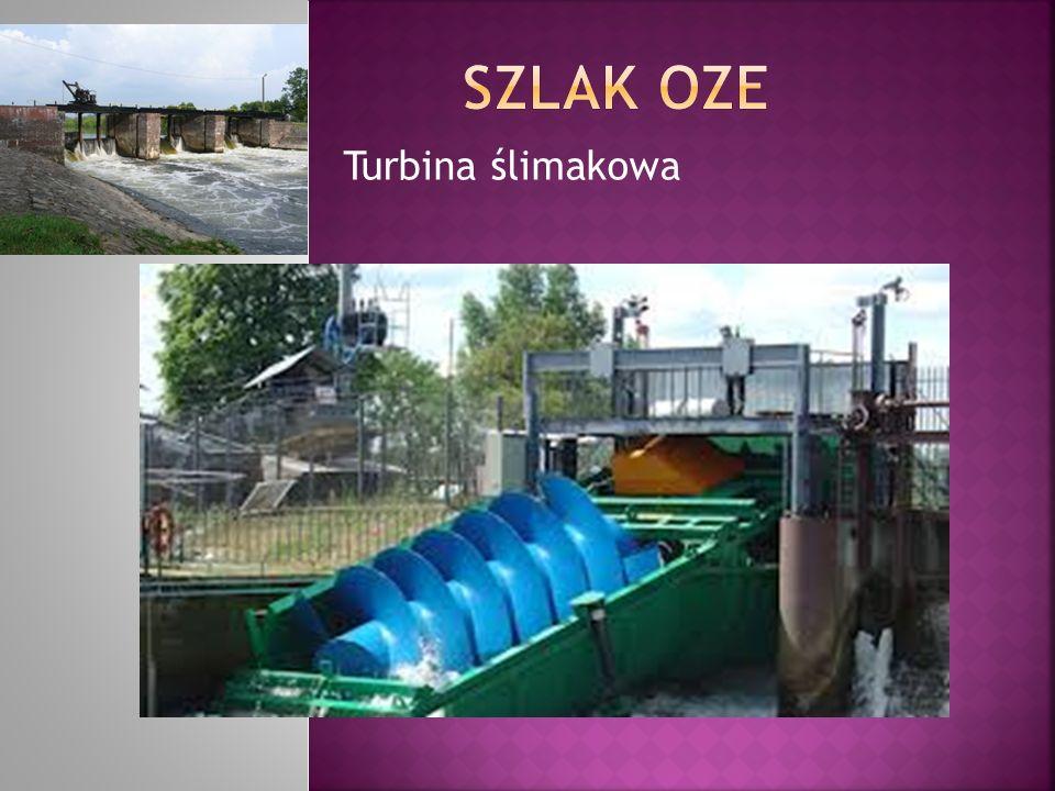 SZLAK OZE Turbina ślimakowa