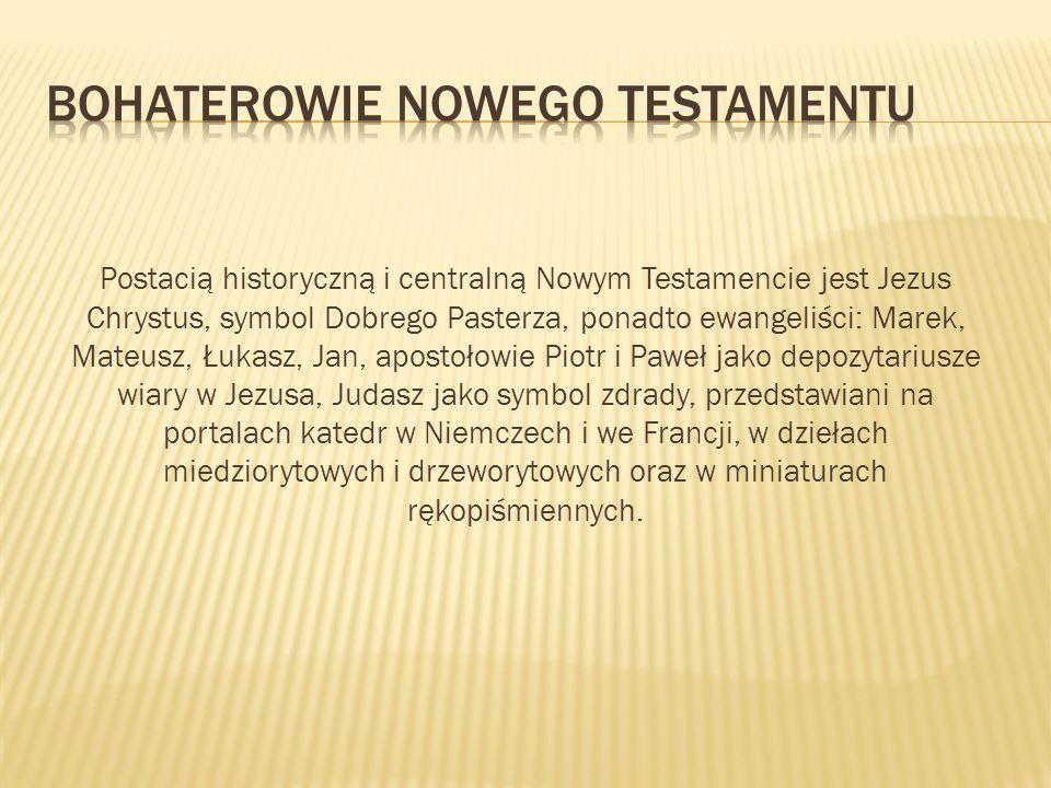 Bohaterowie Nowego Testamentu