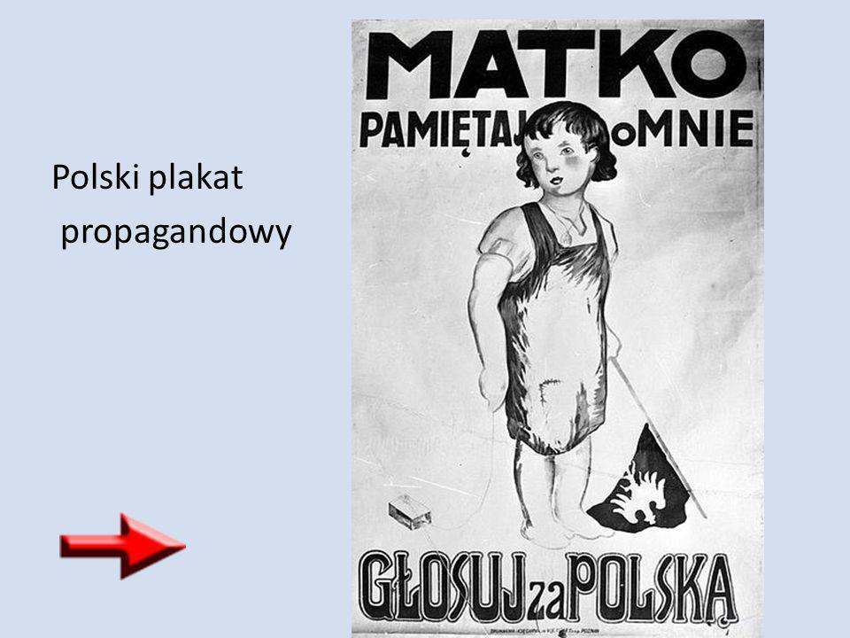 Polski plakat propagandowy