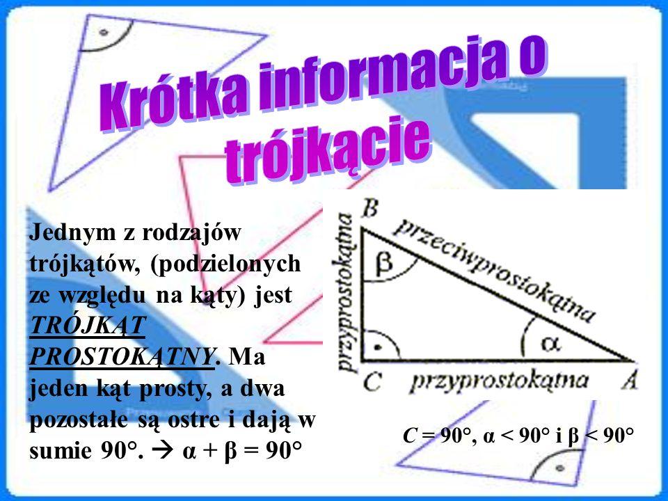 Krótka informacja o trójkącie