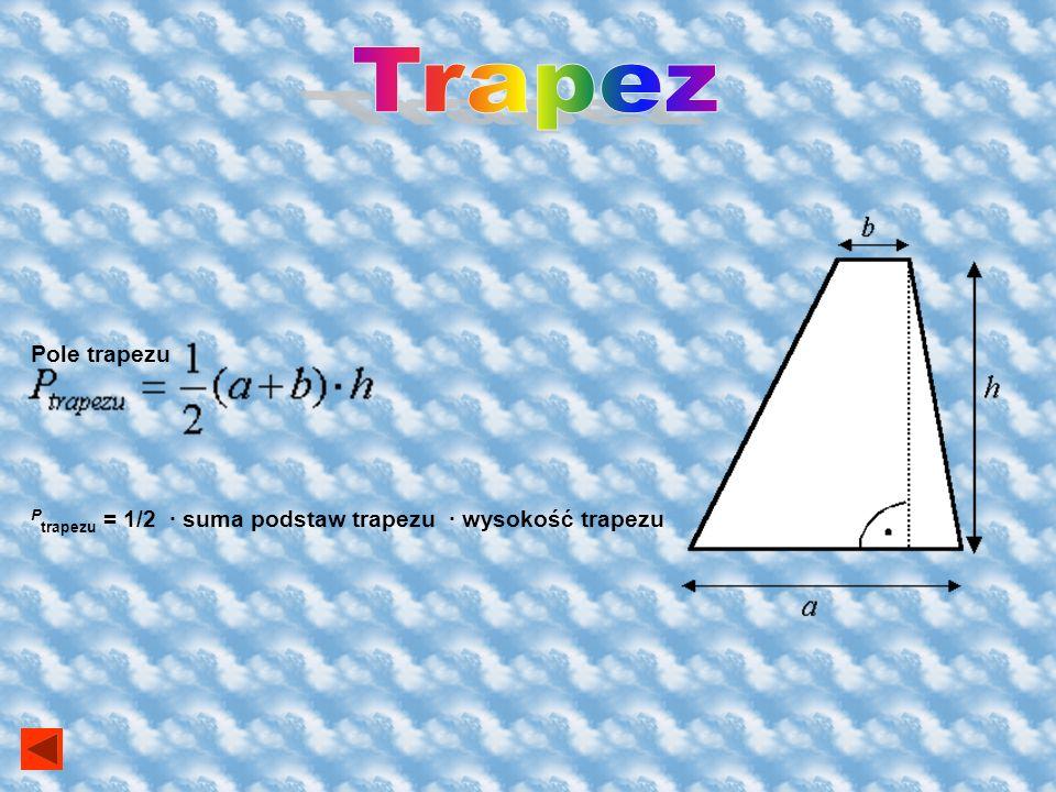 Trapez Pole trapezu.