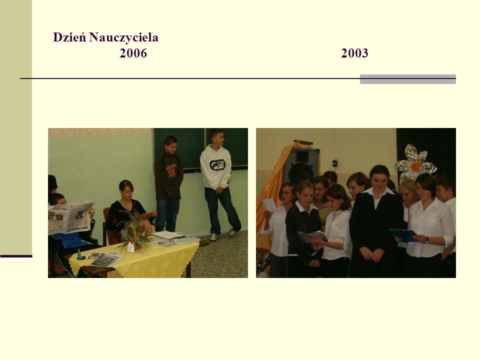Dzień Nauczyciela 2006 2003