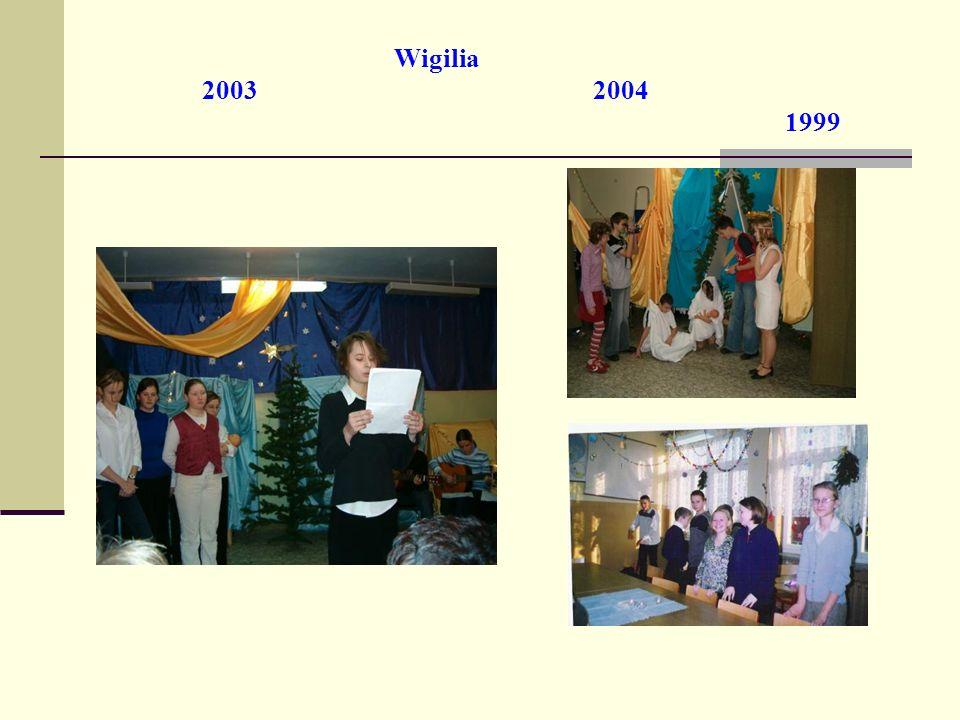 Wigilia 2003 2004 1999