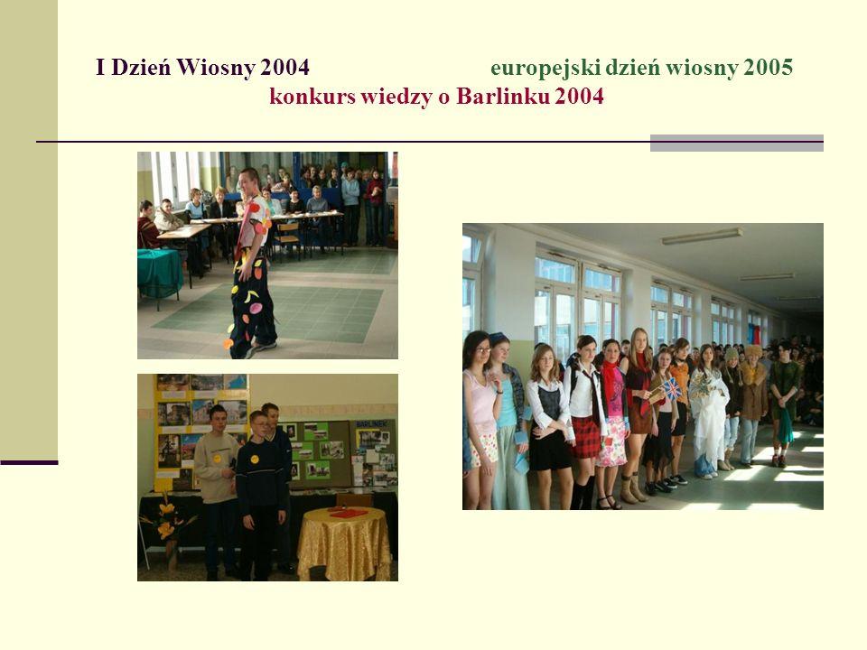 I Dzień Wiosny 2004. europejski dzień wiosny 2005
