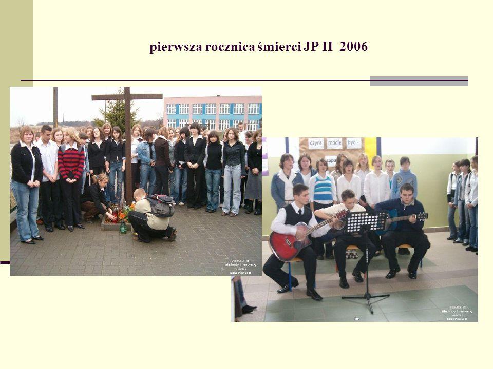 pierwsza rocznica śmierci JP II 2006