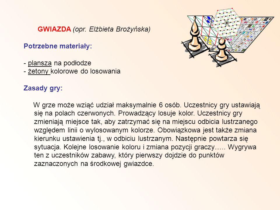 GWIAZDA (opr. Elżbieta Brożyńska)