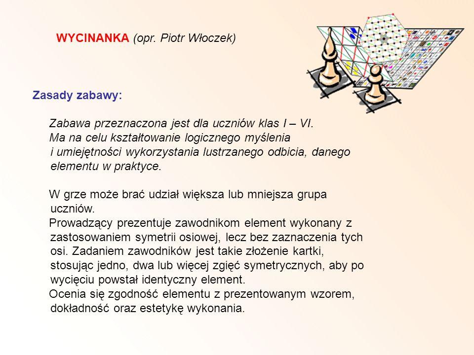 WYCINANKA (opr. Piotr Włoczek)