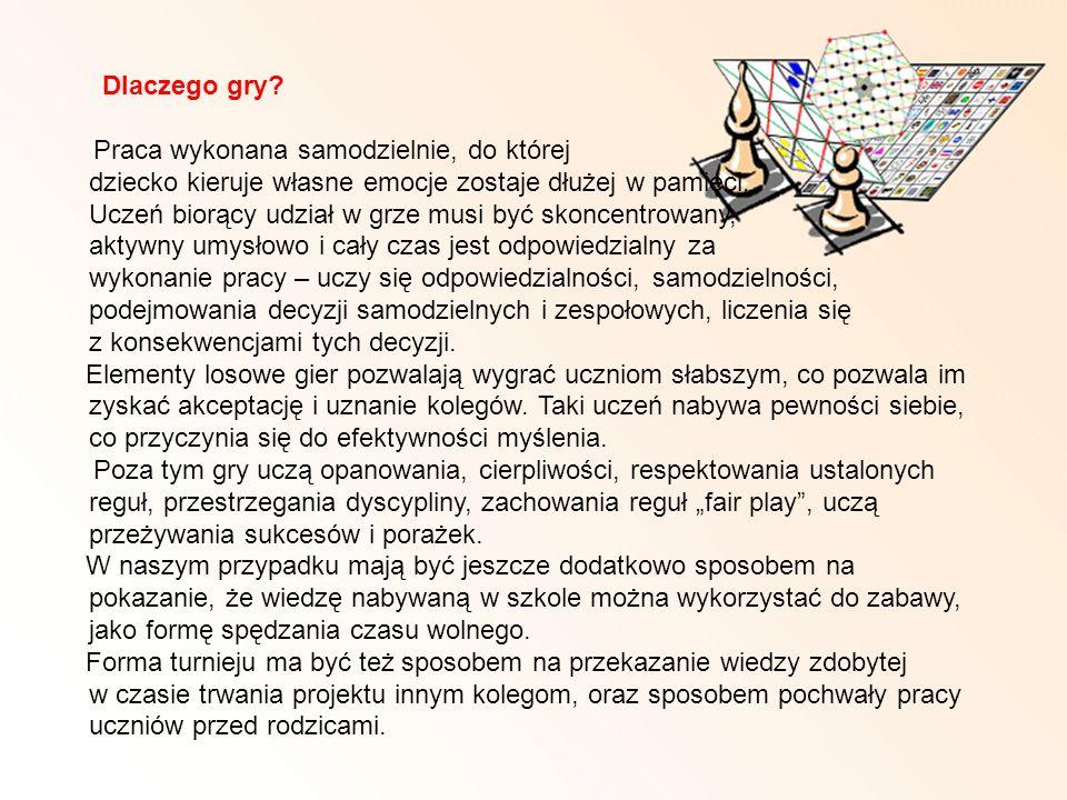 Dlaczego gry