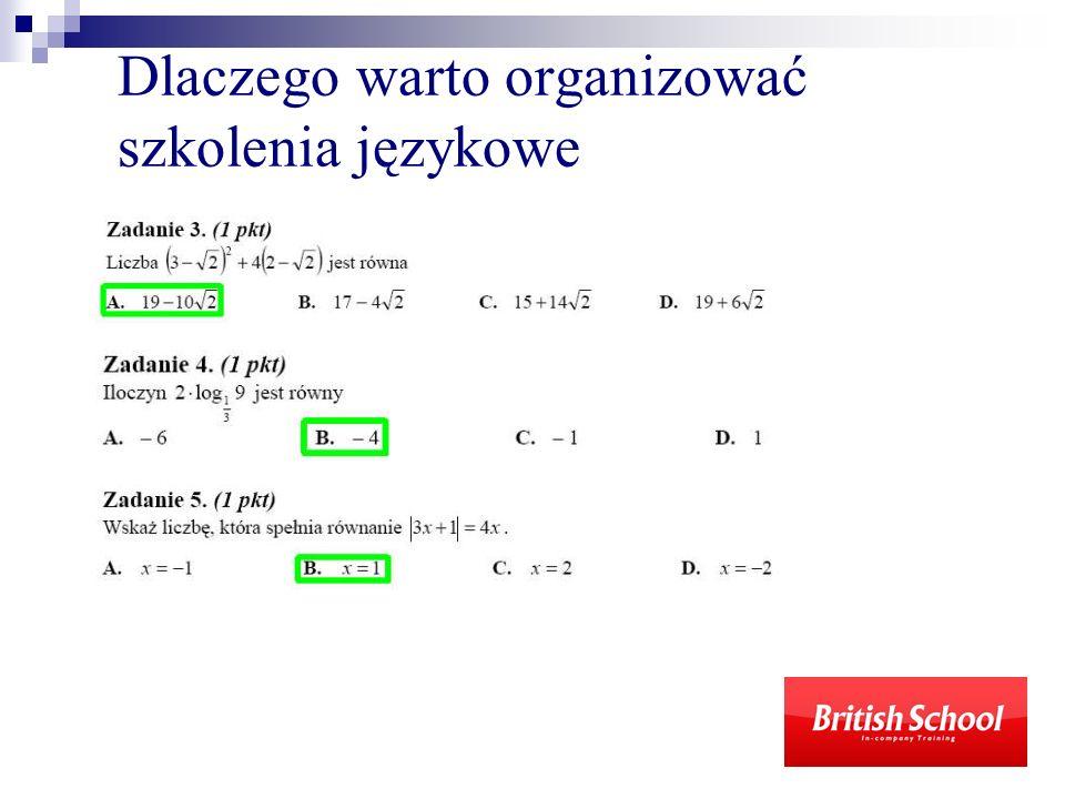 Dlaczego warto organizować szkolenia językowe