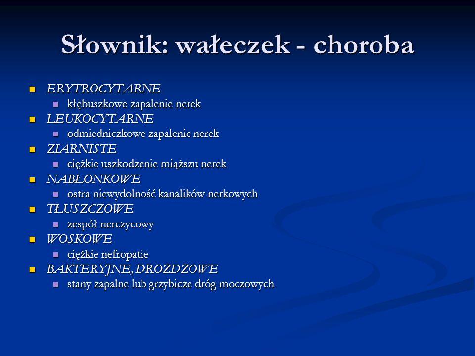 Słownik: wałeczek - choroba