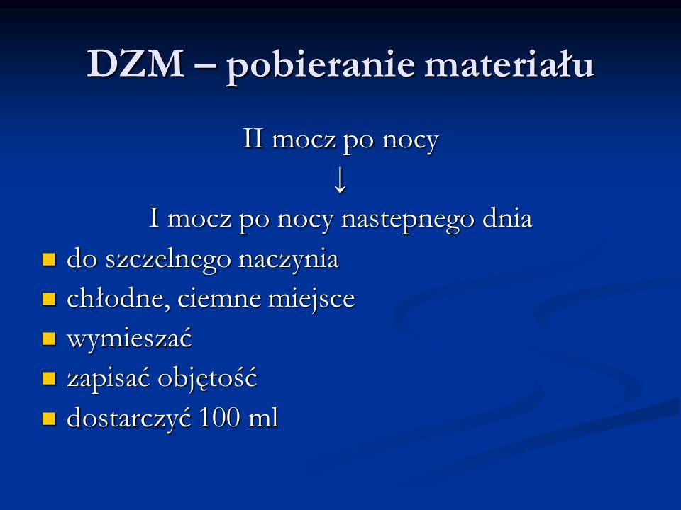DZM – pobieranie materiału