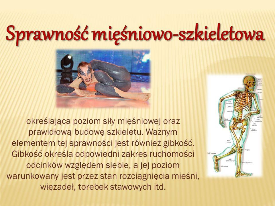 Sprawność mięśniowo-szkieletowa