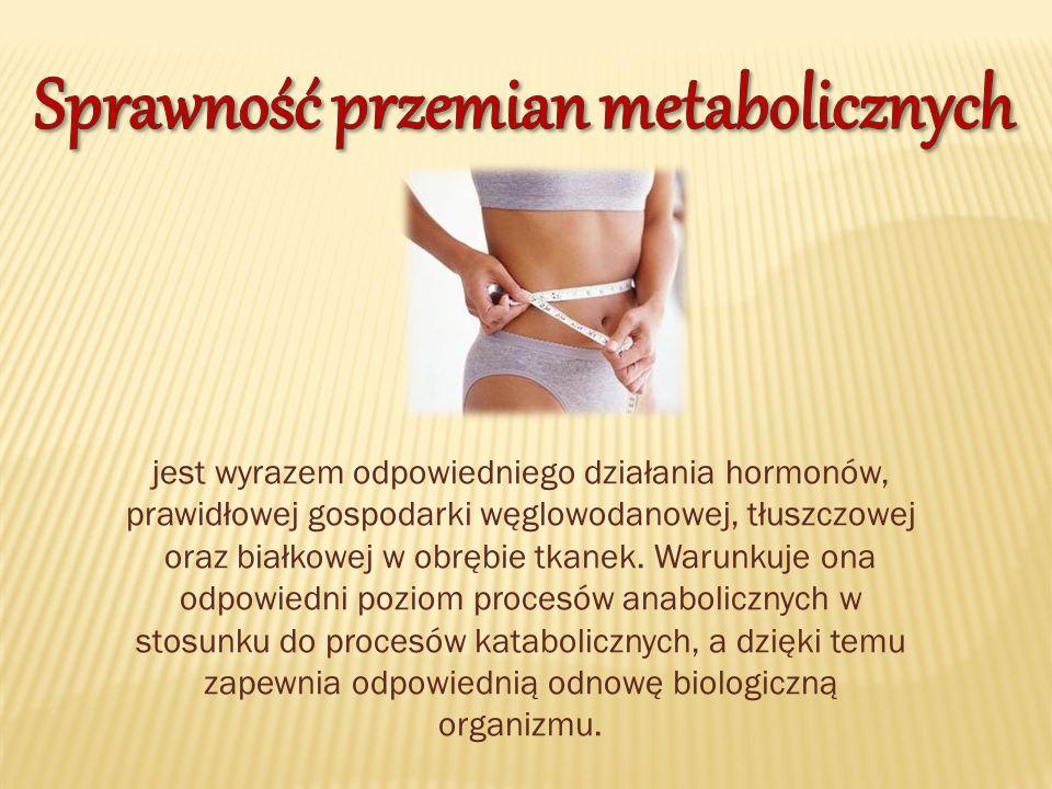 Sprawność przemian metabolicznych