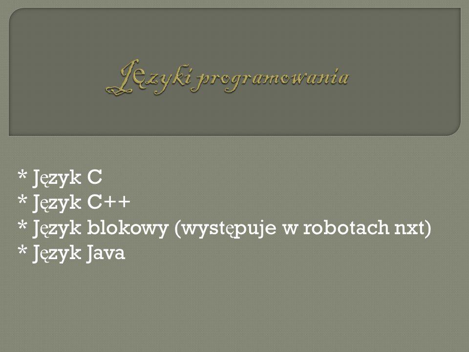 Języki programowania * Język C * Język C++