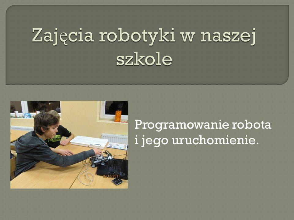 Zajęcia robotyki w naszej szkole