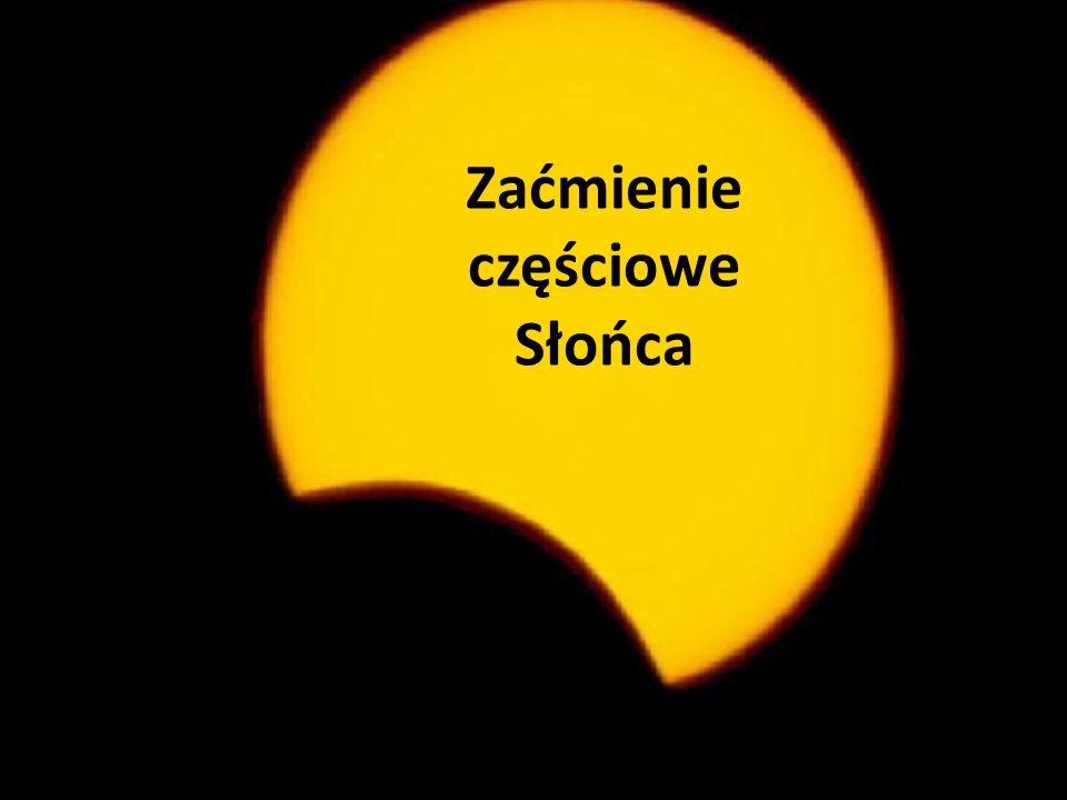 Zaćmienie częściowe Słońca