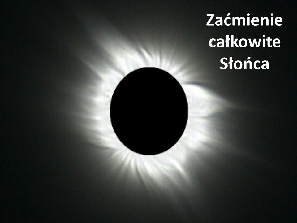 Zaćmienie całkowite Słońca