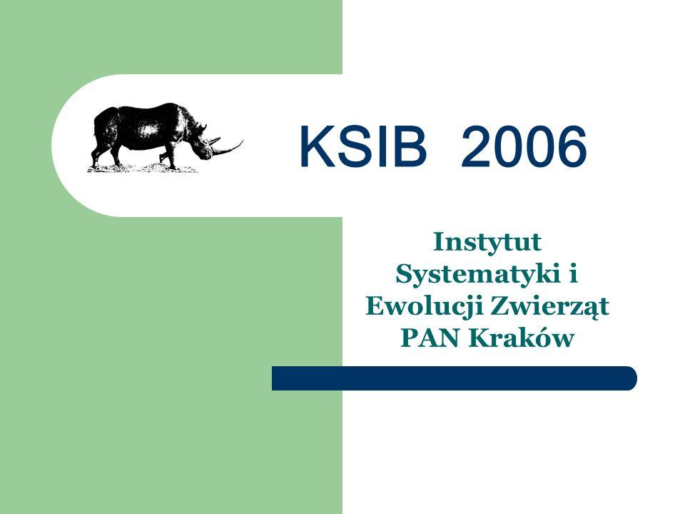 Instytut Systematyki i Ewolucji Zwierząt PAN Kraków