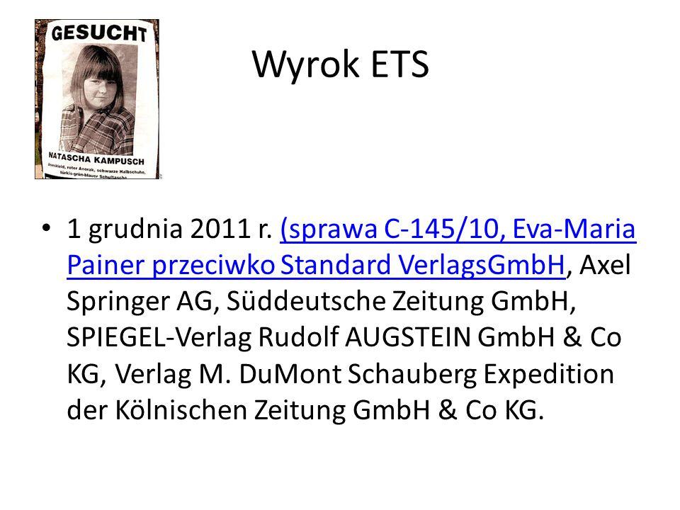Wyrok ETS