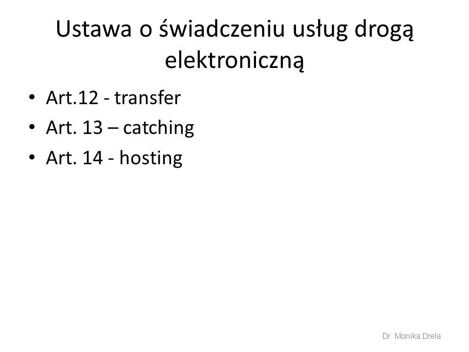 Ustawa o świadczeniu usług drogą elektroniczną