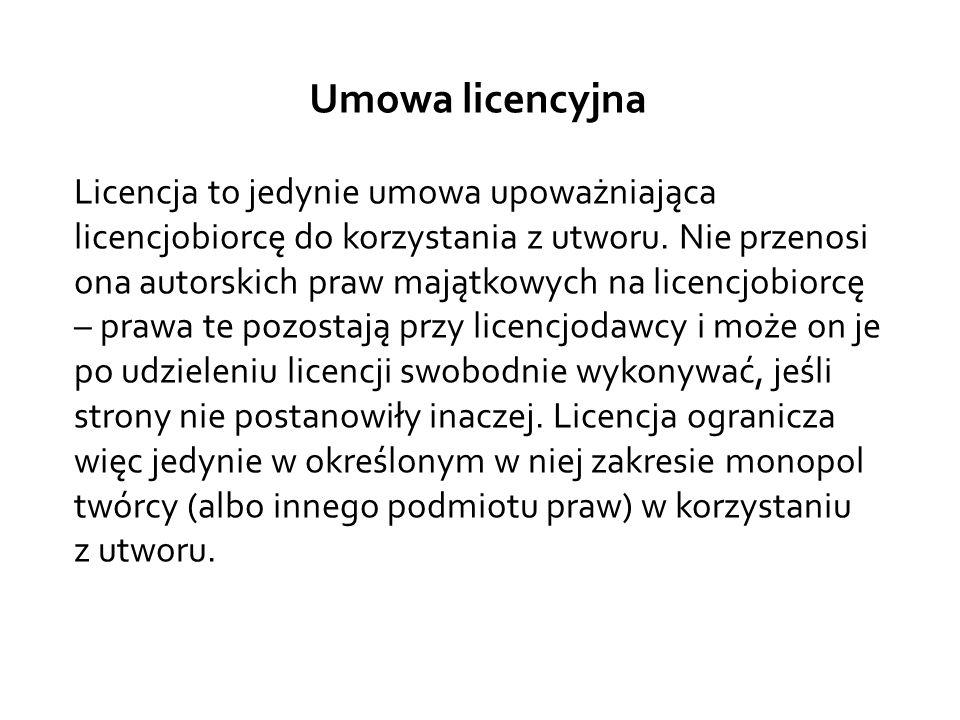 Umowa licencyjna