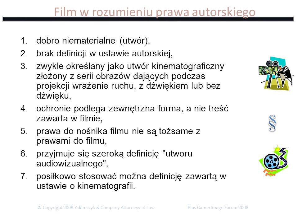 Film w rozumieniu prawa autorskiego