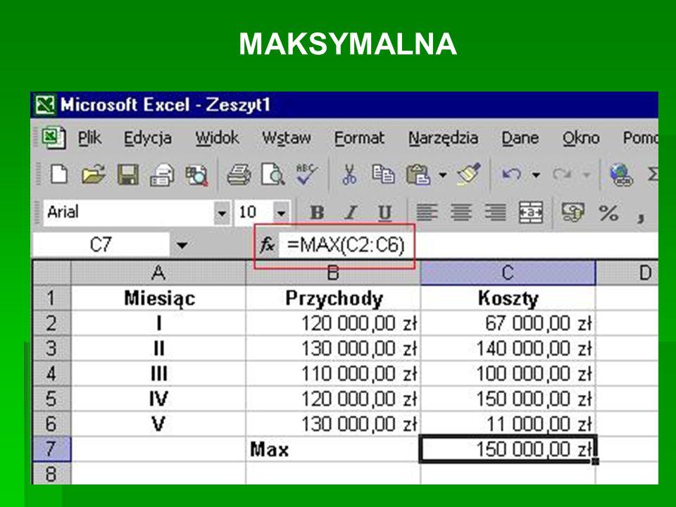 MAKSYMALNA